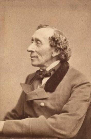 Hans Christian Andersen. (Foto: Wikimedia Commons, se lisens her)