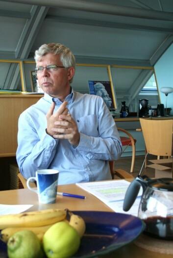 """""""Professor i ernæringsvitenskap, Rune Blomhoff, leder kostrådskomiteen. (Foto: Marianne Nordahl)"""""""