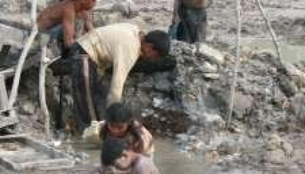 Gullgraverne er typisk fattige filippinere som forsøker å tjene litt ekstra. (Foto: Peter Appel)