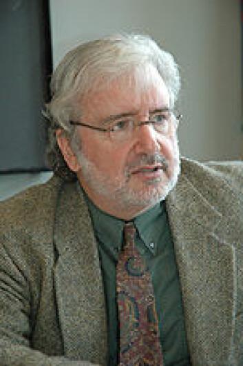 """Brian Levack. Foto: Olaf Christensen, IAKH-UiO."""