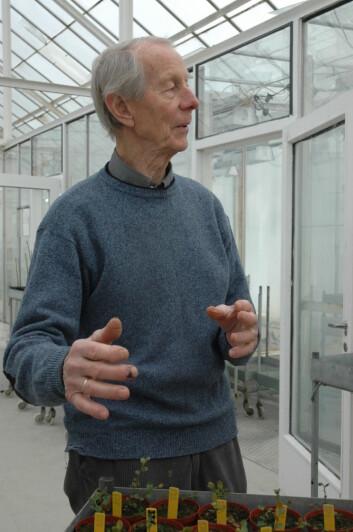 Ola Heide har fortsatt et stort engasjement for bær. 26. april fyller han 80, og etter mange års samarbeid er han nå formelt engasjert i en deltidsstilling i Bioforsk.