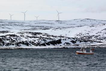 I Lebesby er fiske en viktig næring men også kraftsektoren har blitt viktig etter at en vindmøllepark ble etablert i kommunen. (Foto: Petter Haugneland)