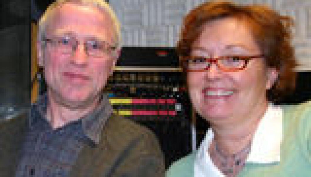 """""""Wim van Dommelen og Kristin M. Eide."""""""