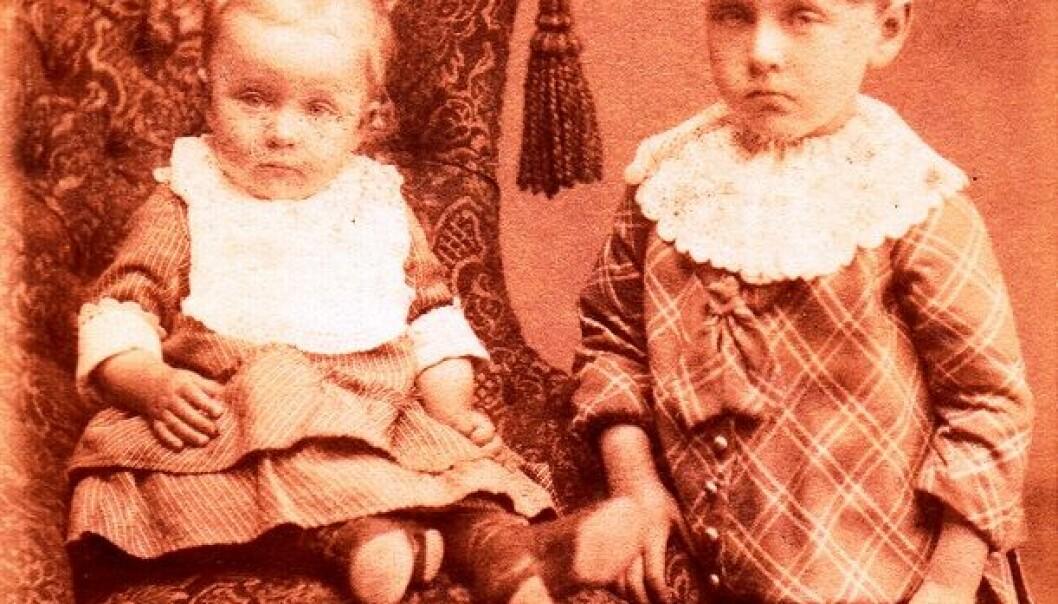 Ukjente barn, fotograf Engvig (Kristiansund) (Foto: Flickr/ Trondheim byarkiv. Se lisens)