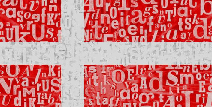 På dansk er det mange vokaler sammenlignet med andre språk. For eksempel er et ord som «angstkrig» svært spesielt, fordi det er enormt mange konsonanter mellom vokalene. I de fleste andre danske ord er det hele tiden veksling mellom vokaler og konsonanter. Det betyr at det danske språket har mange vokallyder – og det gjør dansk vanskelig. (Illustrasjon: Colourbox, redigert)