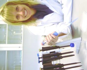 Anne Berit Romstad, stipendiat ved Høgskolen i Nord-Trøndelag. (Foto: Bjørnar Leknes)