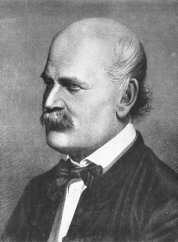 Ignaz Semmelweis (1818-1865) fikk senere tilnavnet «mødrenes frelser» fordi han fikk dødsraten for kvinner på barselstuene ned på omkring én prosent. (Foto: Wikimedia Commons)