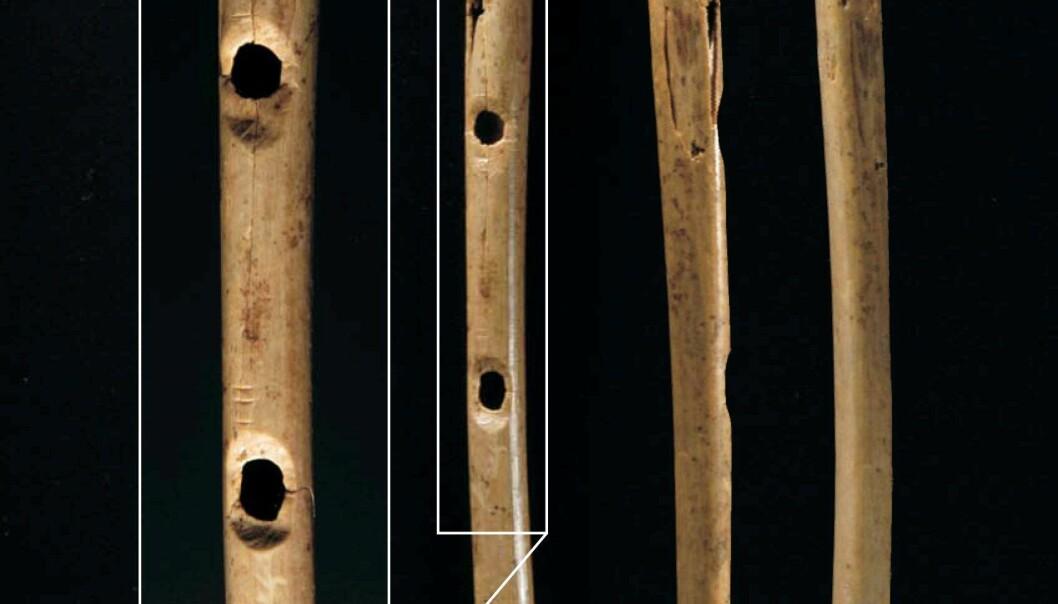 Fløytespill i steinalderen