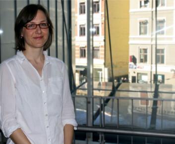 Stipendiat Sissel Johansen. (Foto: Kaarina Ritson)