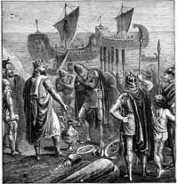 """""""Fønikere og den israelske Kong Salomon."""""""