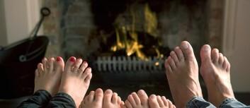 Peisfyring er koselig, men er det en effektiv måte å varme opp boligen på?