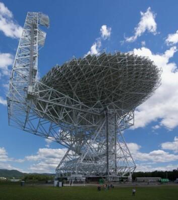 Robert C. Byrd Green Bank Telescope. (Foto: Wikimedia Commons)
