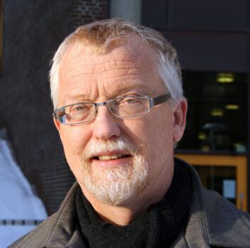 Universitetslektor Andy B. Sortland ved Universitetet i Tromsø. (Foto: Randi M. Solhaug)