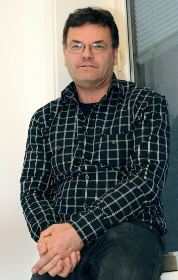 Professor Finn Drangsholt. (Foto: Christine Gulbrandsen)
