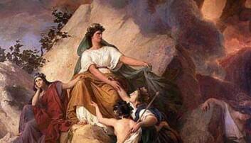 Gudinnen Kybele beskyttet byene