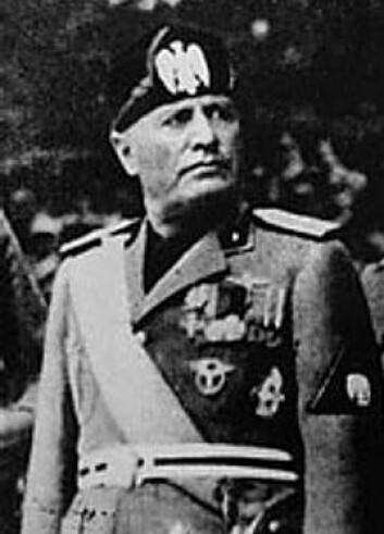 Benito Mussolini. (Foto: Wikimedia Commons)