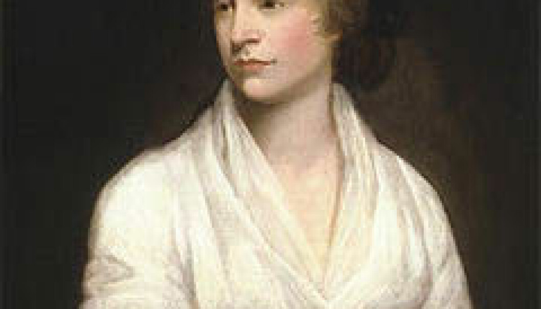 Forfatteren og filosofen Mary Wollstonecraft (1759-1797). (Ill.: Wikimedia Commons)