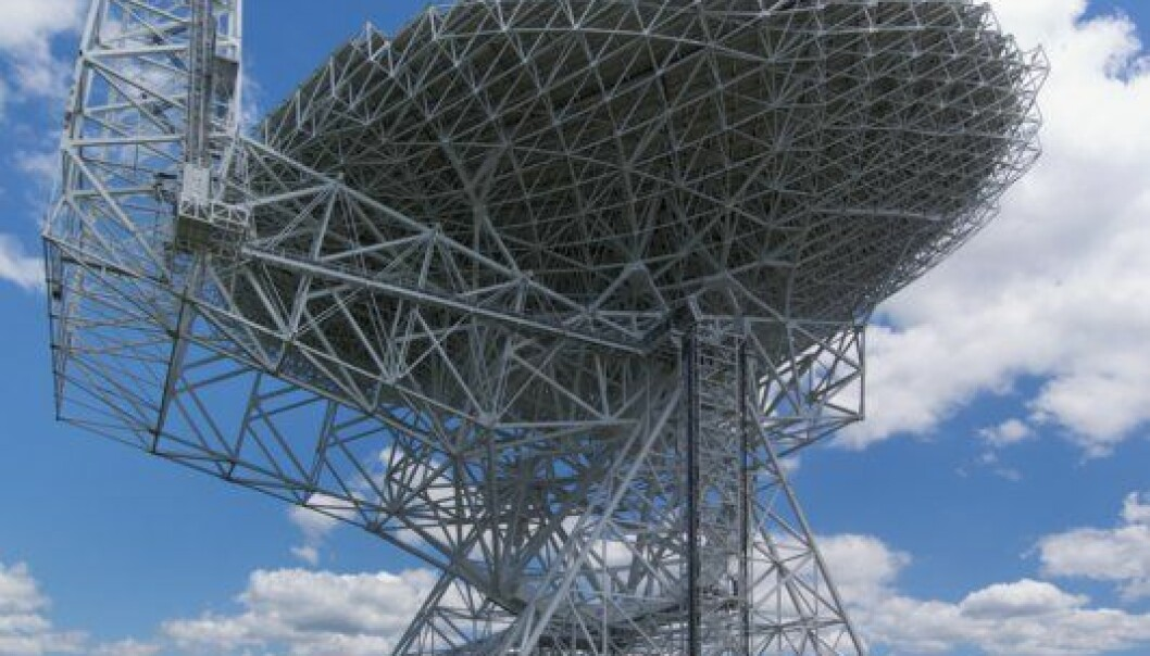 Robert C. Byrd Green Bank Telescope. (Foto: Wikimedia Commons)