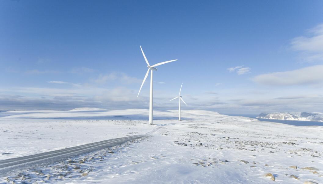 Kjøllefjord vindpark. Foto: Statkraft