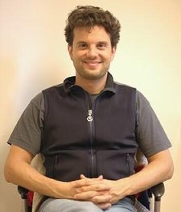 Matteo Pedercini er direktør for Capacity Development and Modeling ved Millennium Institute. (Foto: Kim E. Andreassen)