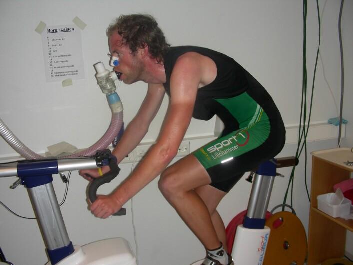 Syklist under testing (Foto: NIH)