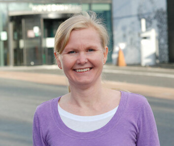 Stine Ulven er leder for Senter for kontrollerte koststudier på Høgskolen i Akershus. (Foto: Sonja Balci)