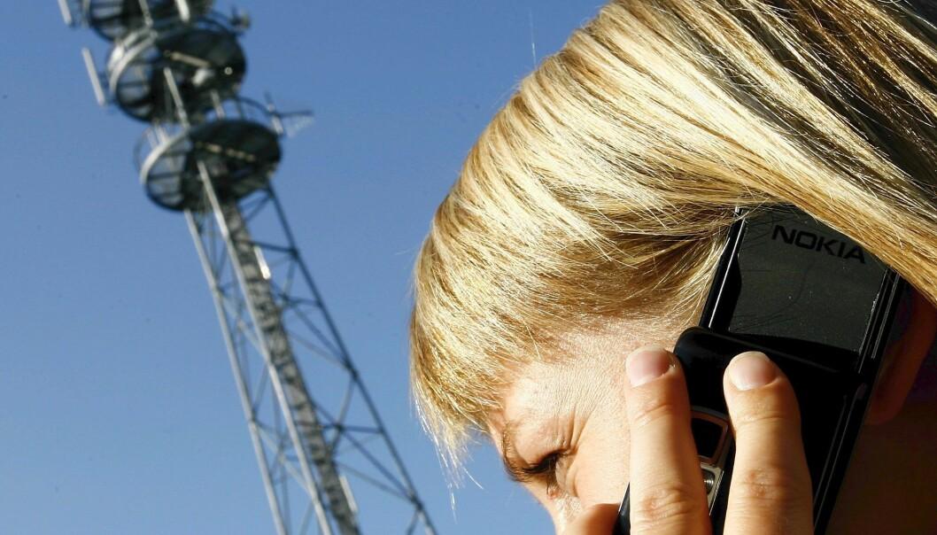 Spår været med mobiltårn