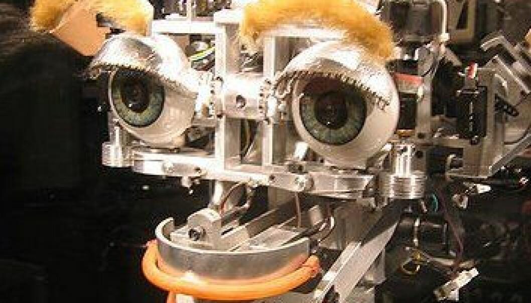 Sosiale roboter i støpeskjeen