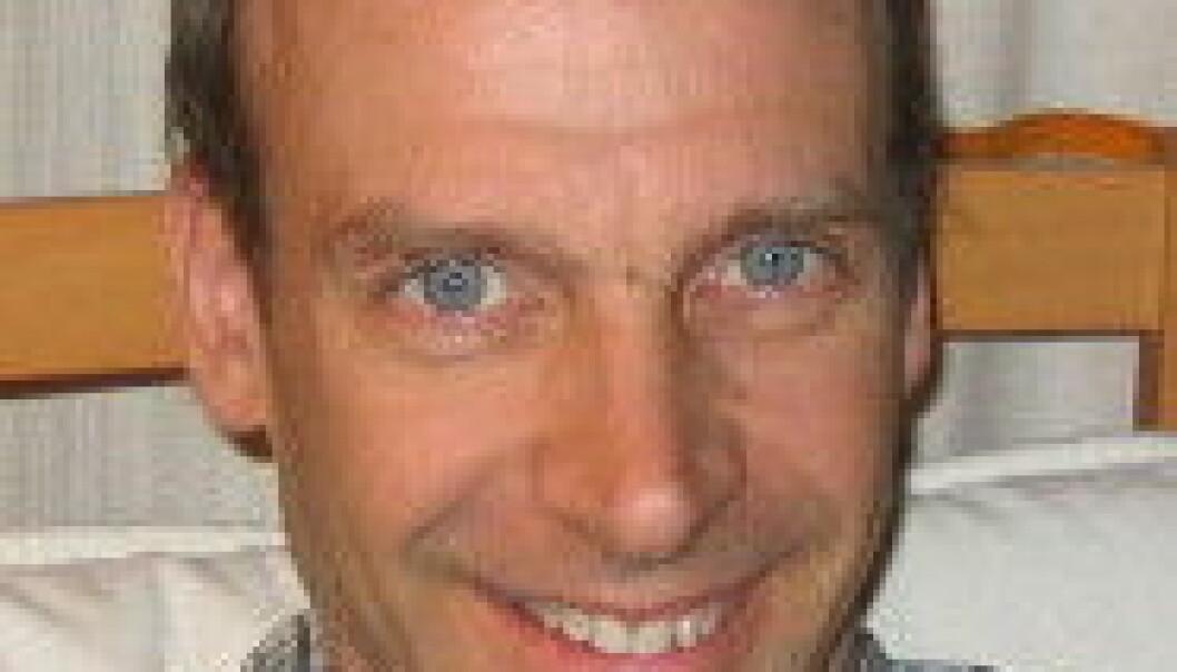 """""""Forsker Christofer Lundqvist mener barn og unge er spesielt sårbare for miljøgifter."""""""