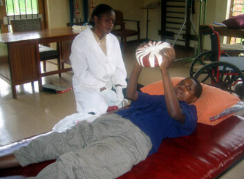 """""""Det er to fysioterapeuter per 12 millioner innbyggere i Malawi."""""""