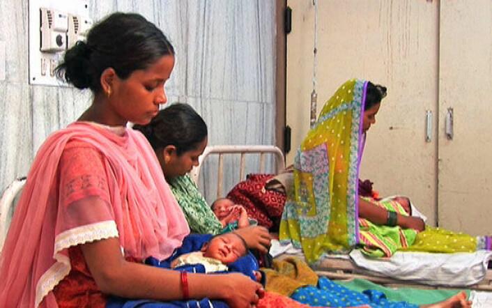 Mange deler av India opplever et økende underskudd av nyfødte jentebarn i forhold til normal kjønnsfordeling. (Foto: Centre for Global Health Reserach - CGHR)