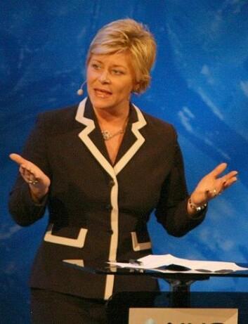 Siv Jensen (Foto: Kjetil Ree/Wikimedia Creative Commons)