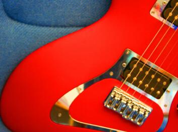 """""""Infeld Shark gitaren kombinerer brukervennlighet med kul design."""""""