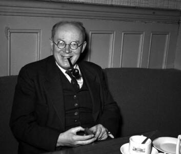 Jørgen Vogt, redaktør og stortingsrepresentant, var blant dem som fikk utdanning i Sovjetunionen. (Arkiv-foto: Arbeiderbevegelsens arkiv og bibliotek)
