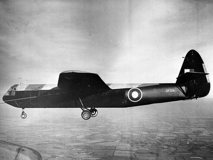 I to Horsa glidefly som dette, skulle soldatene lande nær Rjukan. De kom aldri fram. (Wikimedia Commons)