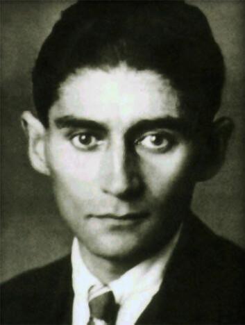"""""""Forfatteren Franz Kafka (1883-1924) kunne bruke absurde elementer i sine historier. (Foto: Wikimedia Commons)"""""""