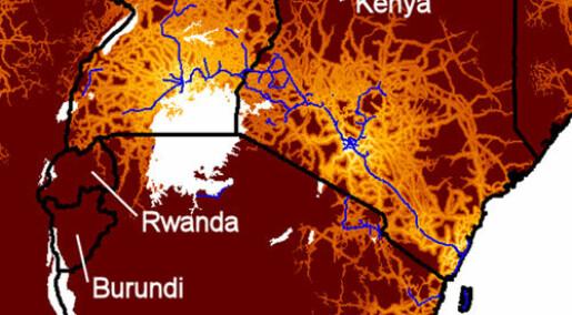 Sporer HIV-viruset gjennom Afrika