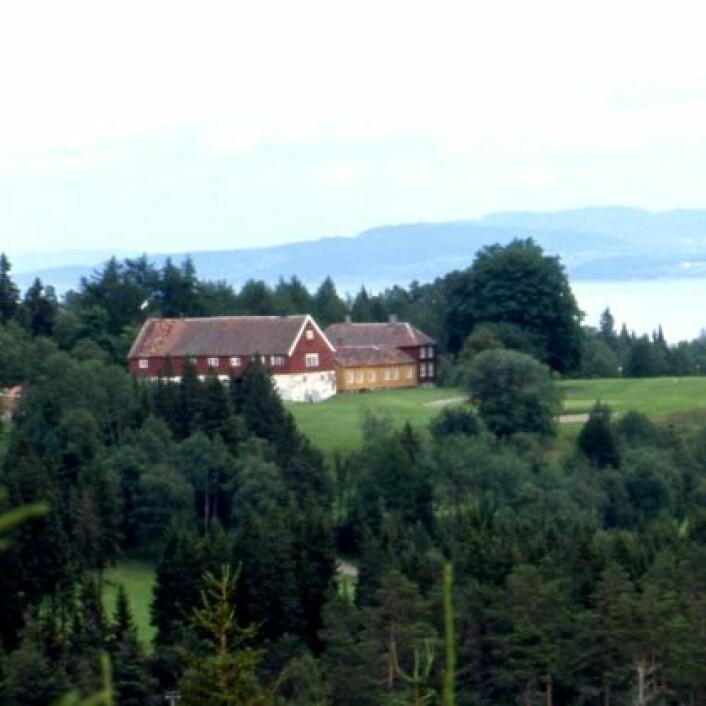 Gården Sommerseter var på 1700-tallet lystgård for en av Trondheims mektige/bedrestilte familier. (Foto: Ragnhild Berge / NTNU Vitenskapsmuseet)