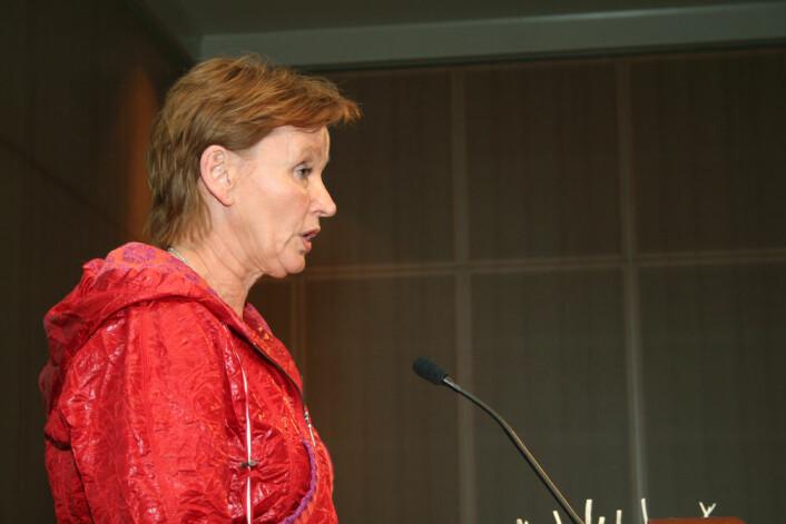 Anita K. Solhaug. Første nestleder i NTL.(Foto: Asle Rønning)