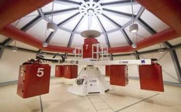 Large Diameter Centrifuge (LDC) ved ESAs forsknings- og teknologisenter (ESTEC) i Noordwijk i Nederland. Foto: ESA.