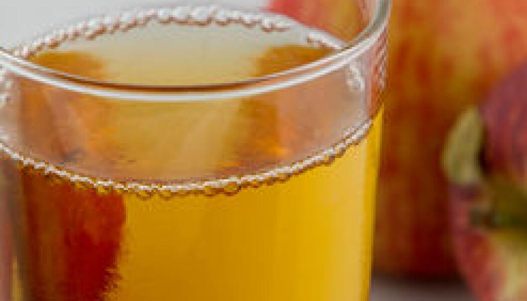Utviklet sunnere juice