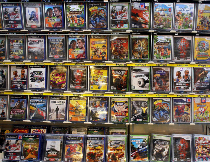 Over halvparten av dataspillene på markedet inneholder en eller annen form for vold. (Illustrasjonsfoto: www.colourbox.no)