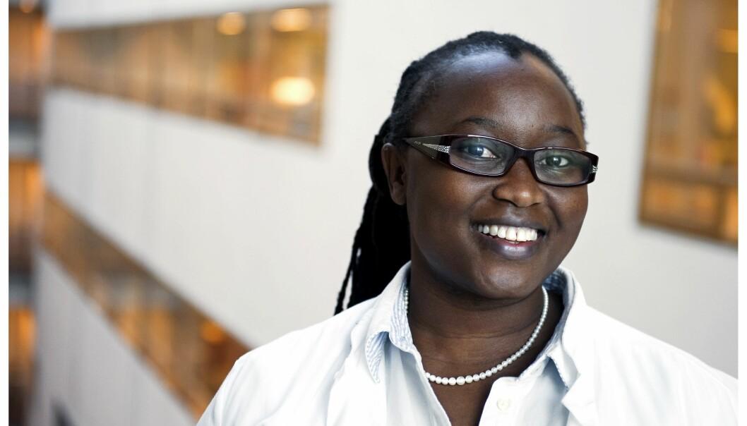 Martha Chekenya Enger ved Universitetet i Bergen. Foto: Helge Skodvin.