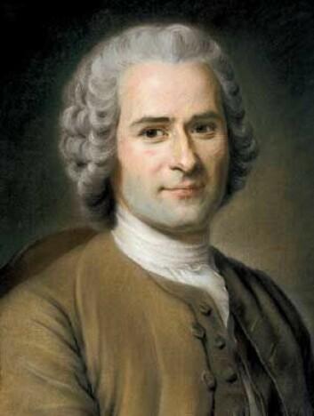 Jean-Jacques Rousseau (1712-1778) (Portrett: Maurice Quentin de La Tour, 1753)
