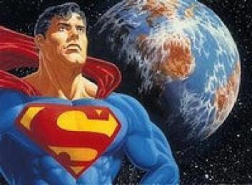 """""""Supermann - romvesen med kjempekrefter."""""""