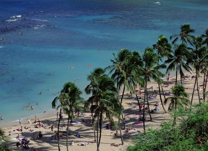 """""""For mange av øynasjonene i Stillehavet er turisme den aller største og mest lukrative industrien. (Illustrasjonsfoto: www.clipart.com)"""""""