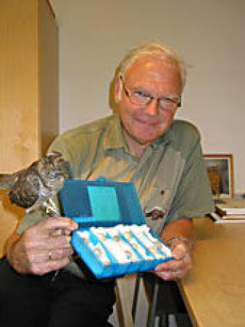 """""""NTNU-professor Arne Moksnes har studert gjøk siden 1987."""""""