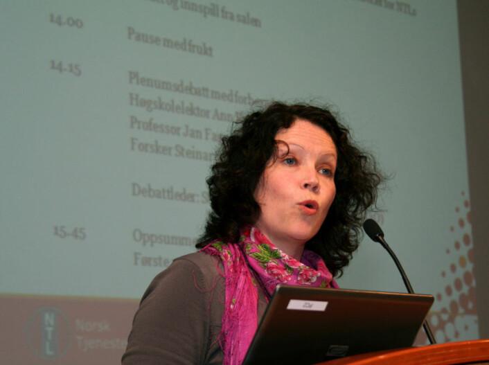 Ann Kristin Alseth. NTL, Høgskolen i Sør-Trøndelag. (Foto: Asle Rønning)