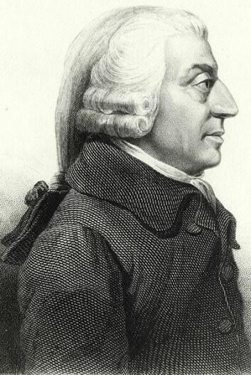 Adam Smith (1723-1790) (Portrett: James Tassie, 1787)