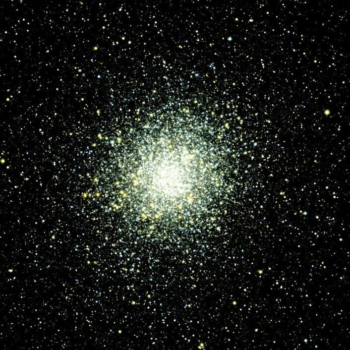 Kulehopen M22 var den første som ble oppdaget, i 1665 av Abraham Ihle. Some Omega Centauri er den sannsynligvis den gjenværende delen av kjernen i en større dverggalakse som var viktig for tilblivelsen av Melkeveien. (Foto: Jae-Woo Lee, Sejong University)